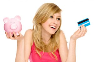 Children and credit cards.  How to stay out of debt.